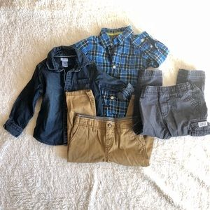 💝Bundle of 24M Toddler Boy Fall Clothes💝
